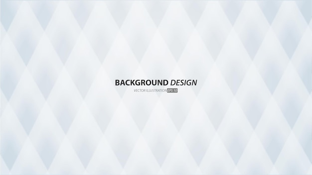 Abstract white and grey gradient color background. with  diagonal lines. Premium Vector