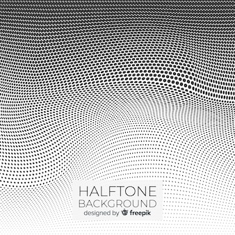 Abstract white halftone background