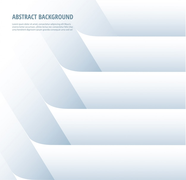 Abstract white line background
