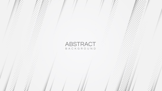 Abstract white modern background with diagonal lines stripes