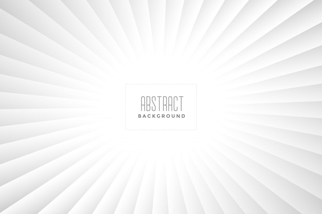 Abstract white rays background design