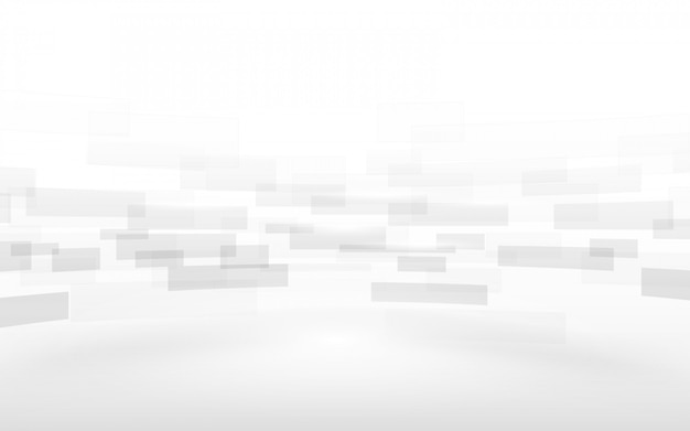 Abstract white rectangles motion background.