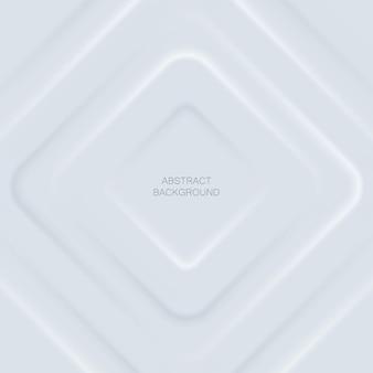 Слои абстрактного белого rhonbus на белом фоне