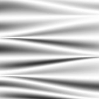 Абстрактная белая атласная шелковистая ткань, тканевый текстильный драп с волнистой складкой. мягкие волны, развевающиеся на ветру. абстрактная белая атласная шелковистая ткань.