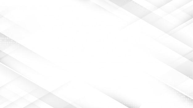 未来のコンセプトの背景を持つ抽象的な白い正方形。あなたのデザインのためのスペース