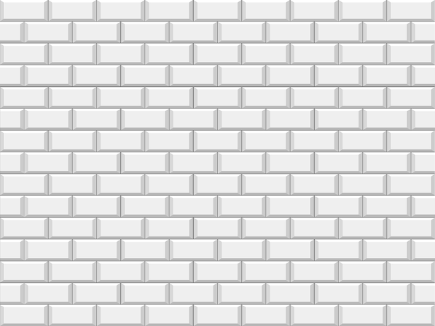 Abstract white structural brick wall