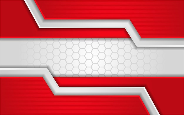 Abstract white texture with red background