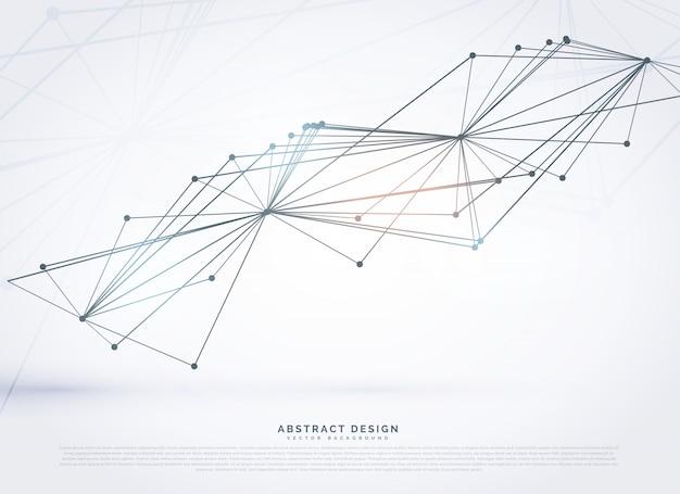 Абстрактные сетки, сделанные с линиями цифровой фон