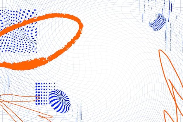 抽象的なワイヤーフレームパターン化された背景