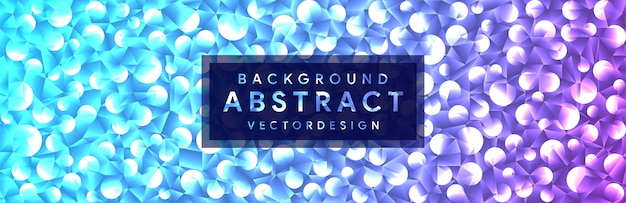 Abstract with 3d crystal shapes geometric polygonal background