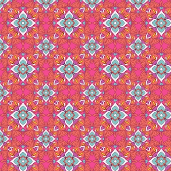 Abstract with an elegant seamless tiled pattern design