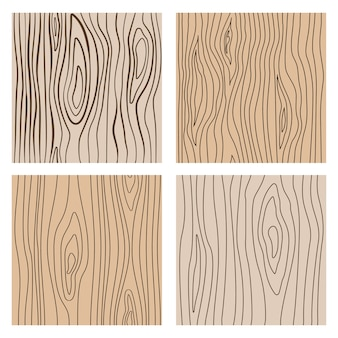 Abstract wood line seamless textures. repeating wooden decoration