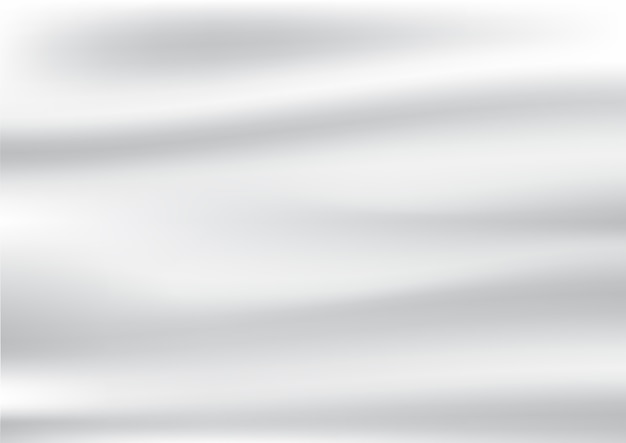 흰색 새틴과 실크 직물 배경 및 textur의 추상 주름