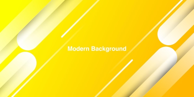Абстрактный фон формы желтый цвет