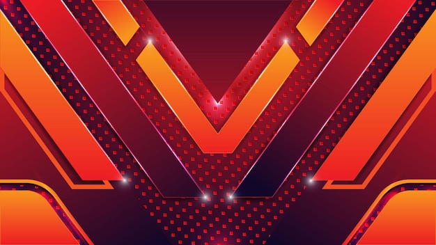 Abstract yellow cool vector gaming background wallpaper