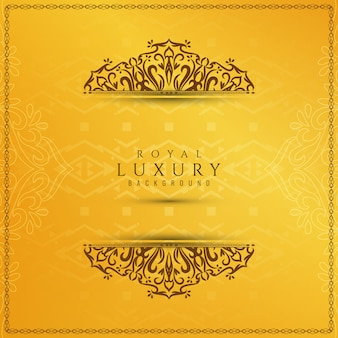 Abstract yellow elegant luxury background