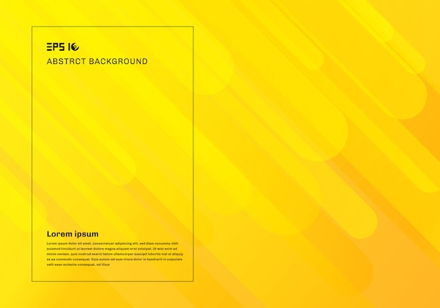 Abstract yellow geometric background