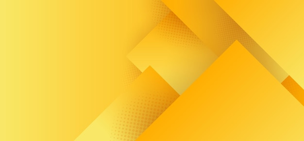 抽象的な黄色の幾何学的な正方形のパターン