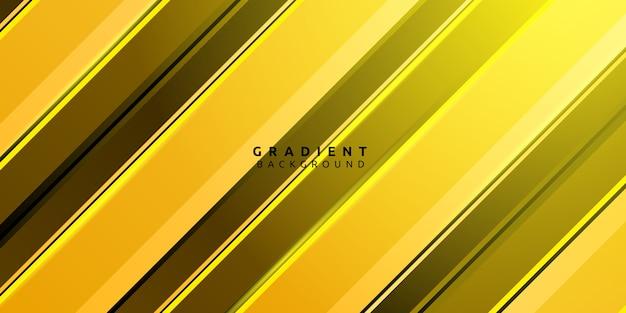 Фон абстрактный желтый градиент полосы