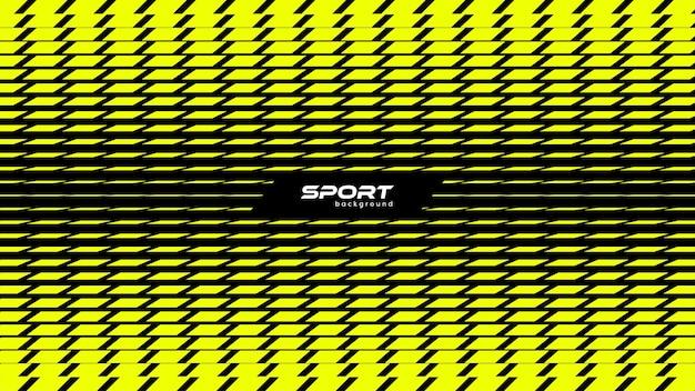 抽象的な黄色のモダンなスポーツの背景長方形パターンベクトル図