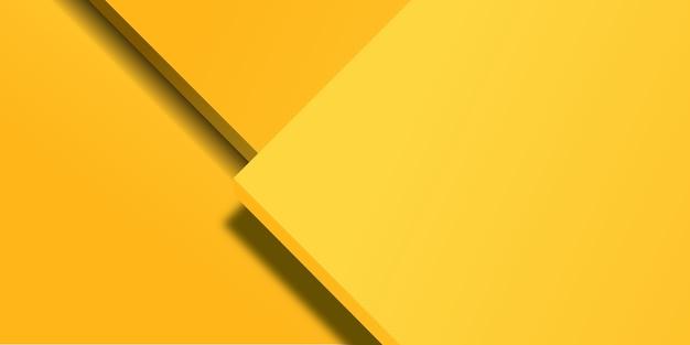 Абстрактный желтый прямоугольник формы фона