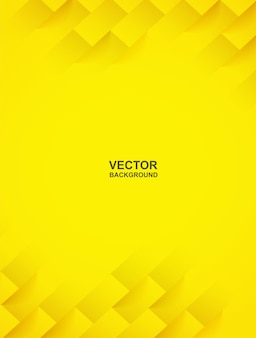 Abstract. yellow square shape geometric background. light and shadow .