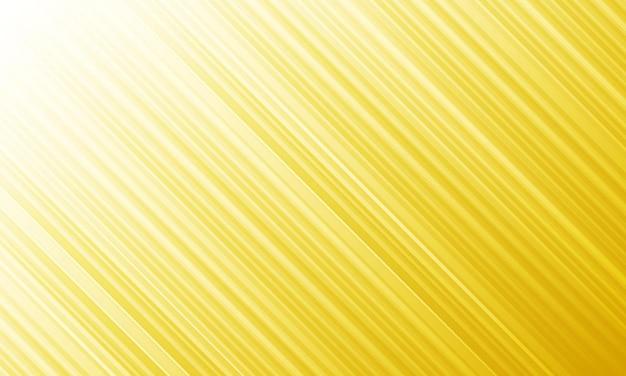 白い背景に明るい黄色のストライプの斜めの線を抽象化します。パンフレットのデザイン。