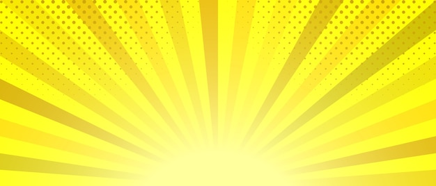 Abstract yellow striped background.