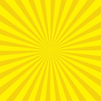 추상 노란 햇살 디자인 서식 파일