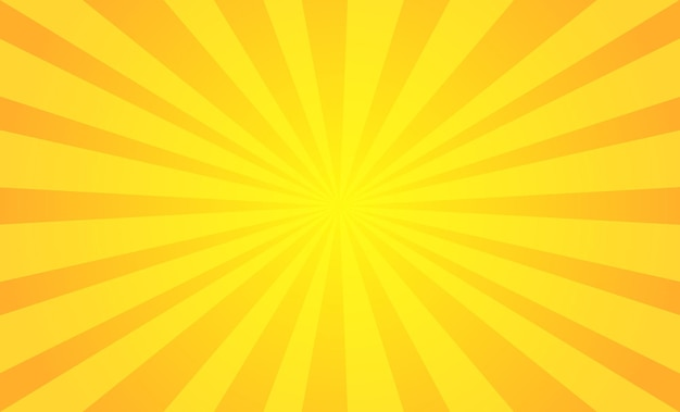 Abstract yellow vintage background Premium Vector