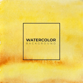 Абстрактный желтый акварельный фон. это нарисовано от руки.