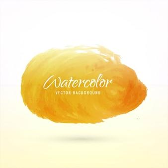美しい黄色の水彩画の背景