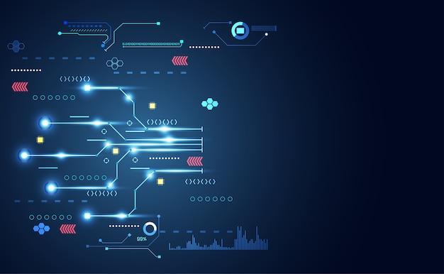 Abstract近代的な接続科学技術ドット