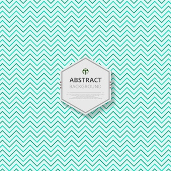 Abstraction of modern small zigzag pattern of blue turquoise color template background.