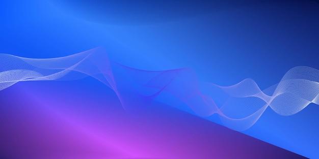 Abstrak濃い青と紫の背景ベクトル