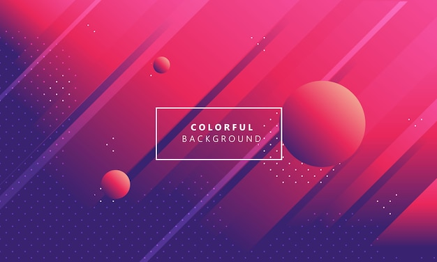 Abtract liquid background modern template