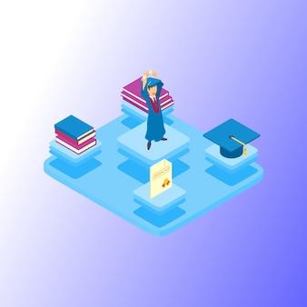Academic achievement icons