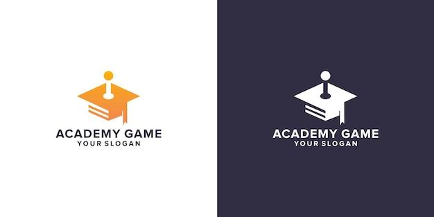 Academy game logo design