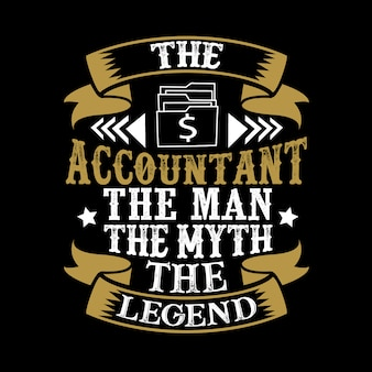The accountant the man the myth the legend