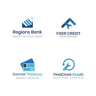 Бухгалтерский учет финансовый банкинг логотип
