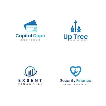 Accounting financial banking logo