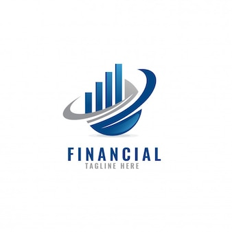 Accounting &  financial logo template