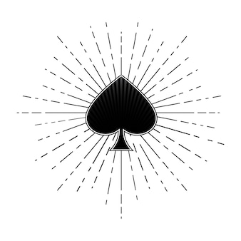 Ace of spades.