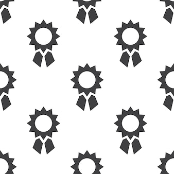 Achievement, vector seamless pattern, editable can be used for web page backgrounds, pattern fills