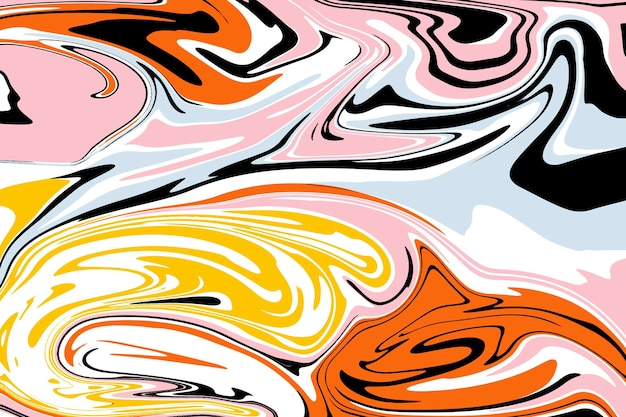 Acid colorful marble background