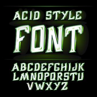 산성 글꼴 알코올 생산 용 전단지 및 기타 인쇄용으로 적합