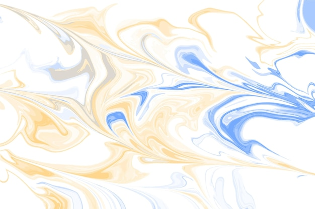 Acid yellow and blue marble background
