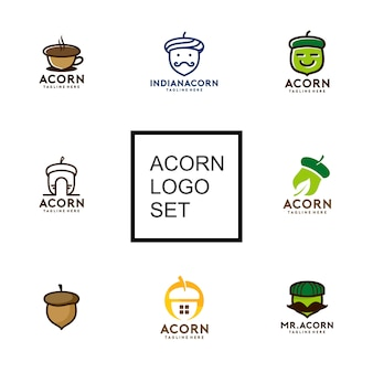 Acorn logo collection