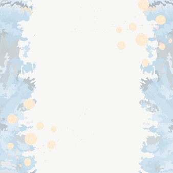 Acrylic paint pour background vector