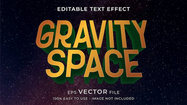 Action game editable text effect